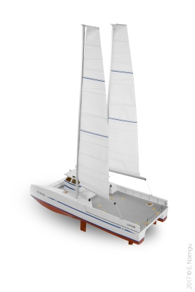 Catamaran Listao, cat-boat et Bi-plan