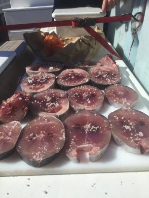 Préparation du thon à la façon Biche